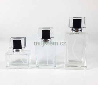 Lahvička na parfém HEXAGON 30ml,  60ml,  100ml